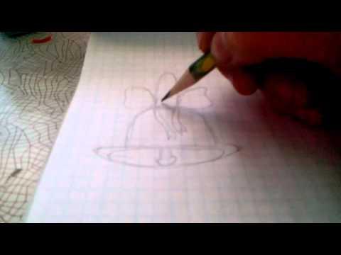 Как нарисовать колокольчик 1 сентября