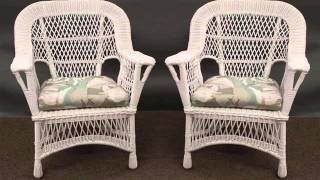 Collection Of Wicker Furniture Set Romance