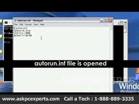 How to Remove Autorun.inf Virus?
