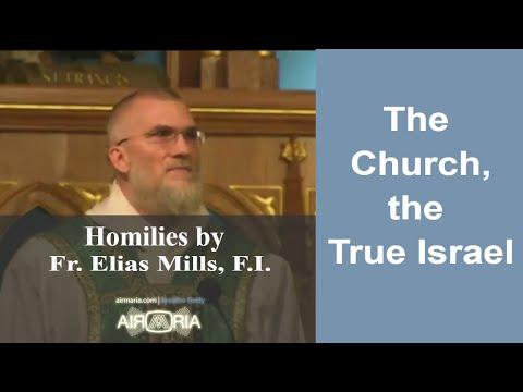 Oct 08 - Homily - Fr Elias: The Church, the True Israel