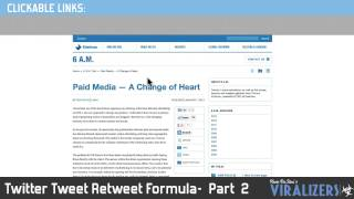 Twitter Tweet Retweet - Part 2 | Viralizers
