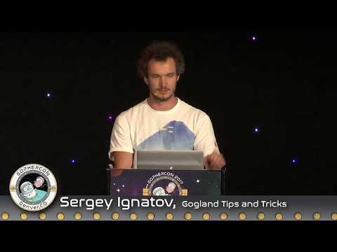 GopherCon 2017 - Lightning Talk: Sergey Ignatov - Gogland Tips and Tricks