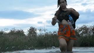 Uau Pesca De Senhora   Pesca Bonita De Meninas   Pesca Primitiva   Como Pegar Peixe   Parte 202