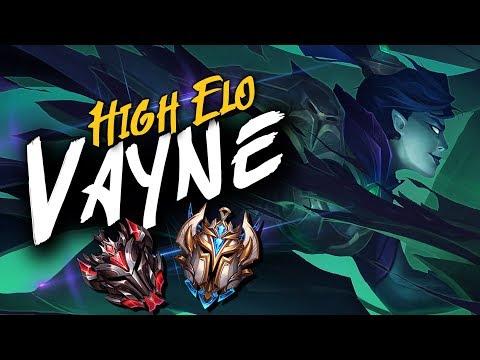 GRANDMASTER // CHALLENGER VAYNE PLAYS | League of Legends