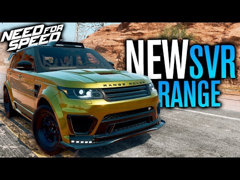 NEW Range Rover Sport SVR CUSTOMIZATION | Need for Speed Payback