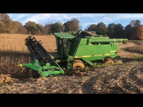Buried a 9400 John deere combine, got everything stuck trying to get it out