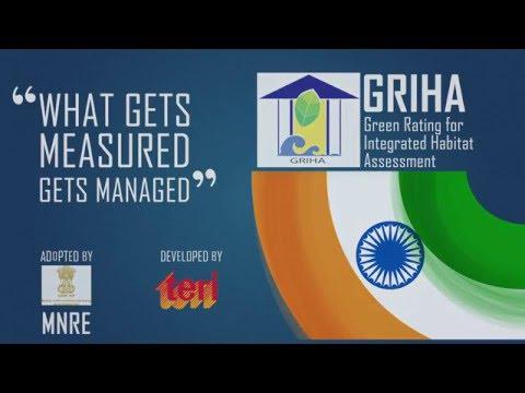 Green buildings - The GRIHA way