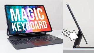 iPad Pro Magic Keyboard Unboxing & Review - IT FLOATS!