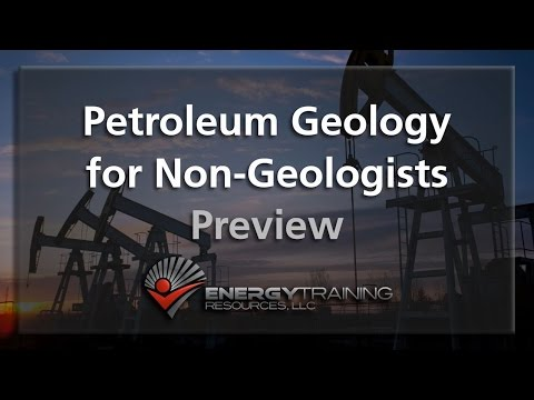 Petroleum Geology for Non-Geologists
