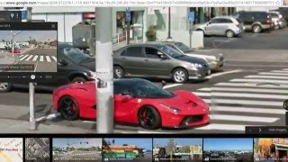 supercars on google maps 2015 Free HD Video