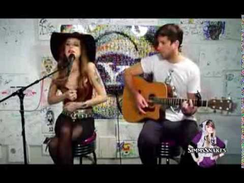 End Of The World - Juliet Simms (Y! Music Live)