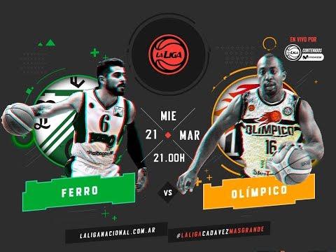 Liga Nacional: Ferro vs. Olímpico | #LaLigaEnTyCSports