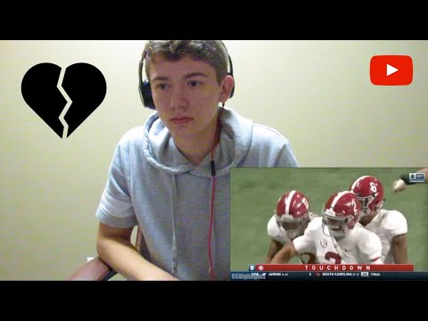 UGA FAN'S REACTION TO THE 2018 SEC CHAMPIONSIP... Georgia vs. Alabama 💔