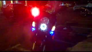 SYM GTS200 RED STROBE LIGHT FLASH LED