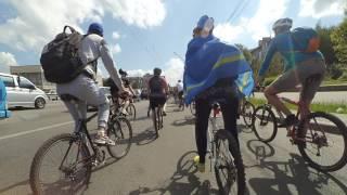 2017-05-20 Велодень 2017 Київ Святошинська колона проспект Перемоги Kyiv Bike Day Ride Святошинская