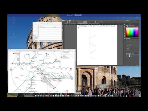 Creare mappa metropolitana di Roma | Make Roma's tube map