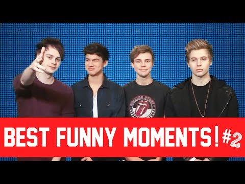 5 Seconds Of Summer  Best Funny Moments! #2 2014