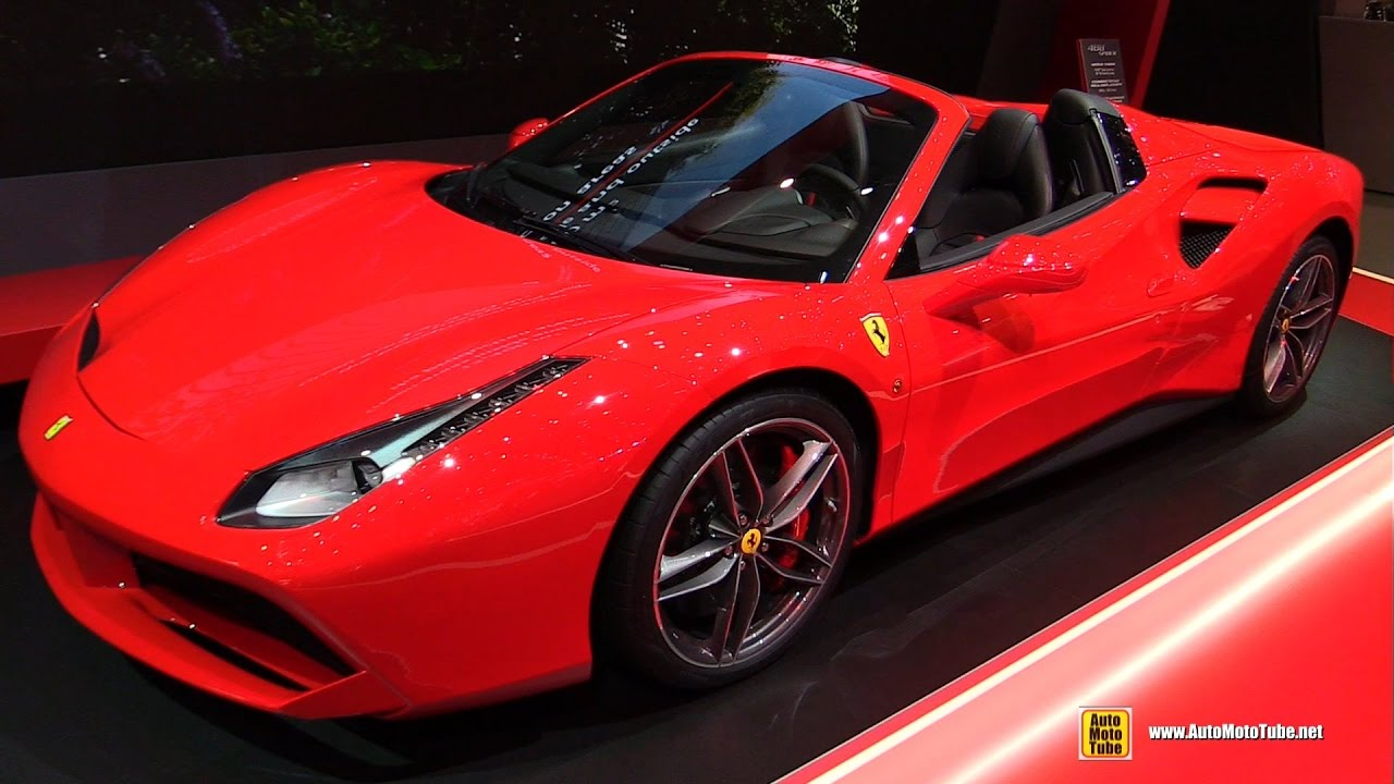 2018 ferrari 488 spider. contemporary 488 2017 ferrari 488 spider  exterior and interior walkaround geneva  motor show to 2018 ferrari spider s