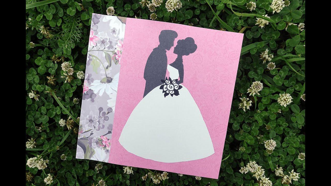 открытка на свадьбу своими руками фото