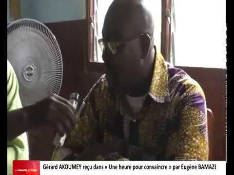 Gérard AKOUMEY reçu dans « Une heure pour convaincre » par Eugène BAMAZE
