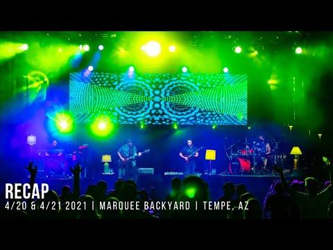 Spafford | Recap | April 2021 | Marquee Backyard | Tempe, AZ