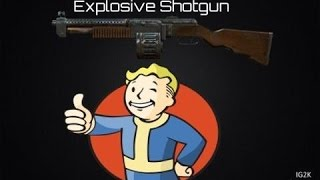 Fallout 4 - How to get the Legendary Explosive Shotgun Fallout 4 Farming Guide