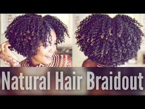 How To | Bomb Braidout On Natural Hair