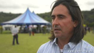 Interview with Neil Oliver - Chalke Valley History Festival 2013