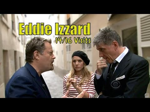 Eddie Izzard & Craig Ferguson  When Two Unhinged Comedians Meet  1416 Visits In Timely Order