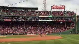 【BOS】 フェンウェイ・パーク 試合中の雰囲気 1 (ボストン・レッドソックス本拠地)