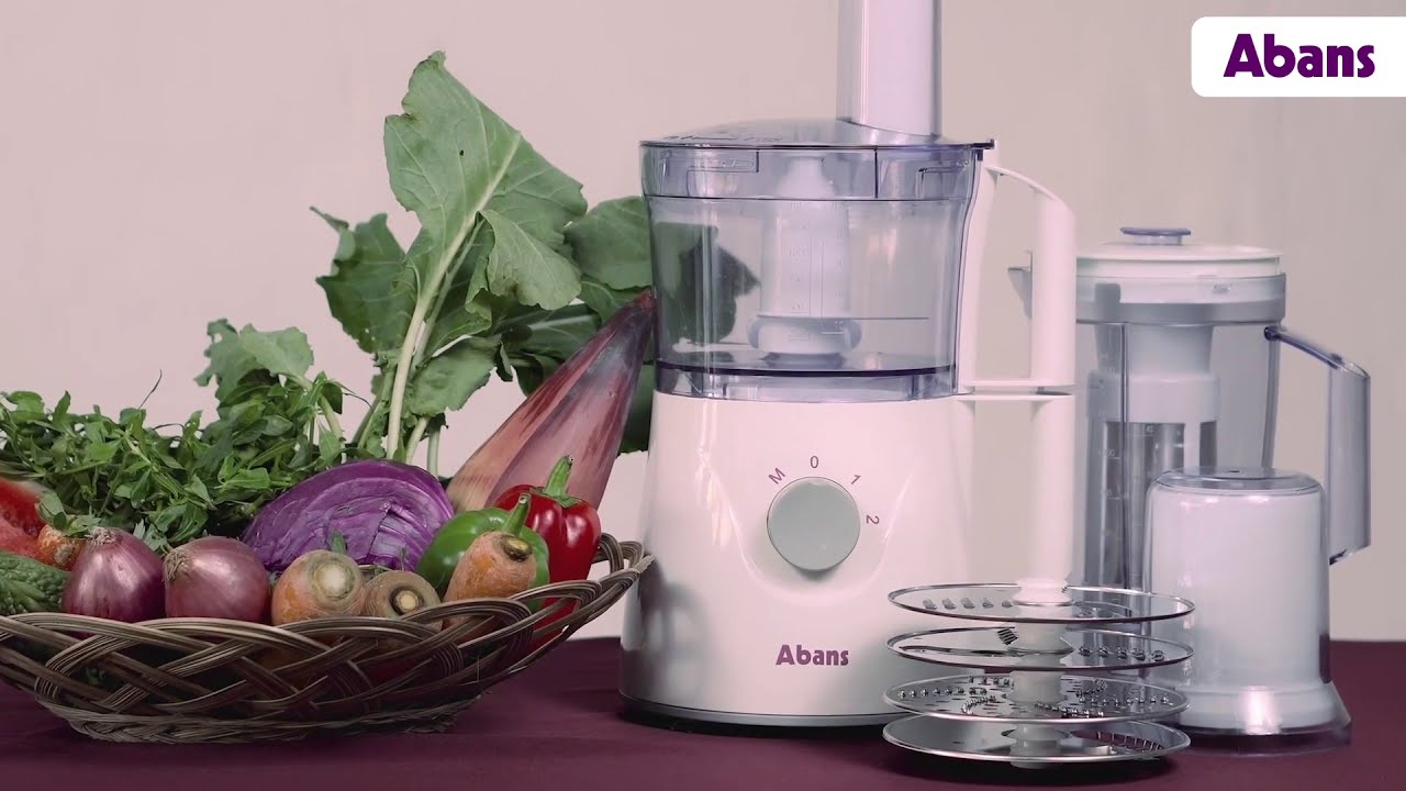 Abans 7 in 1 Food Processor - YouTube