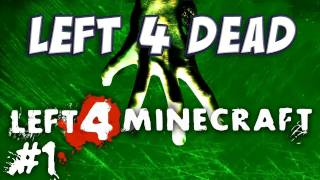 Yogscast - Left 4 Dead Minecraft Mod Part 1