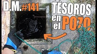 What is the CREEPY WELL? Fishing with SUPER MAGNET Magnet Fishing - Detección Metálica 141