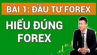 Forex Bài 1| Hiểu đúng về Forex - Đầu tư Forex Cơ Bản đến Nâng Cao