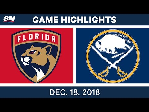 NHL Highlights | Panthers vs. Sabres - Dec 18, 2018