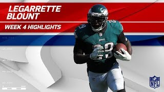 LeGarrette Blount Goes Full Beast Mode Against LA   Eagles vs. Chargers   Wk 4 Player Highlights