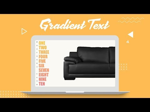 Gradient Text | CSS Tutorial thumbnail