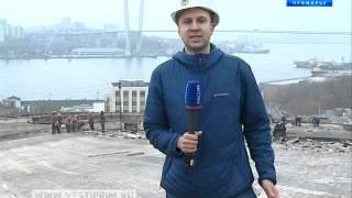 Строительные работы во владивостокском цирке проинспектировал Олег Ежов(, 2016-04-13T03:50:10.000Z)