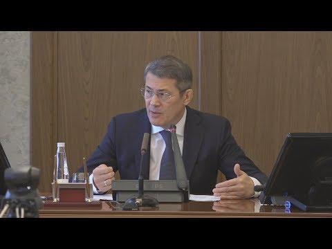 UTV.  Радий Хабиров раскритиковал башкирских синоптиков и работу городских служб