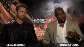 'Olympus Has Fallen' Gerard Butler And Antoine Fuqua Interview