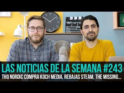 ¡La semana en 10 min #243! THQ Nordic Compra Koch Media, Rebajas Steam, The Missing...