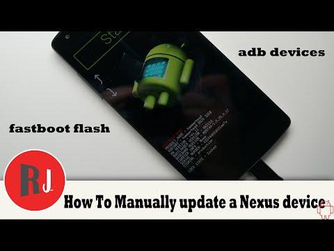 How To Manually Update Any Nexus Device Firmware With Fastboot