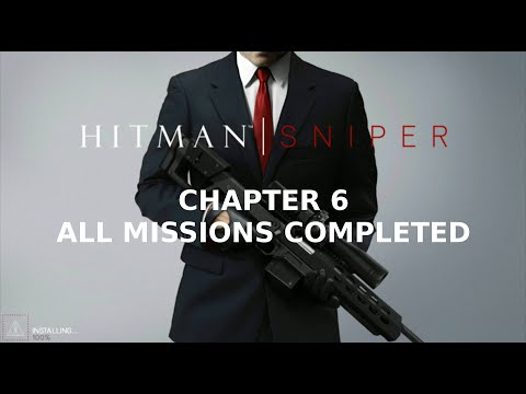 Hitman: Sniper | ALL MISSIONS COMPLETED - Арт декорирование on