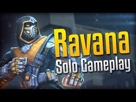 Smite: BRUTALITY!- Eliminator (Removed Skin) Ravana Solo Gameplay
