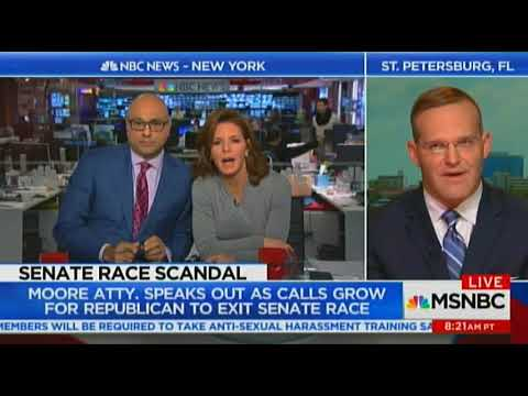 Roy Moore's Lawyer Goes All Racist On MSNBC's Velshi