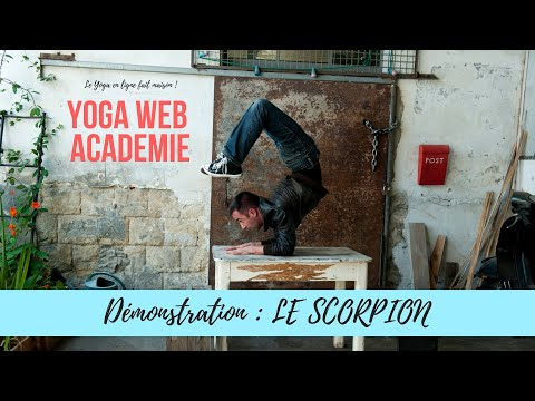 YOGA : Le Scorpion [démonstration]