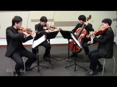 Air on G by Bach (Singapore String Quartet)