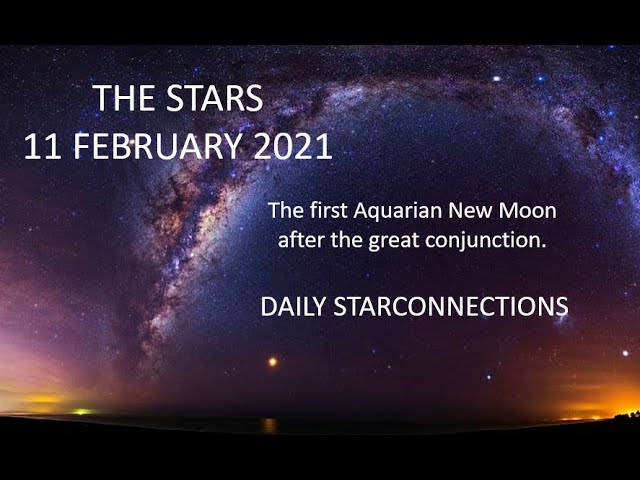 First Aquarian New Moon after the great conjunction.