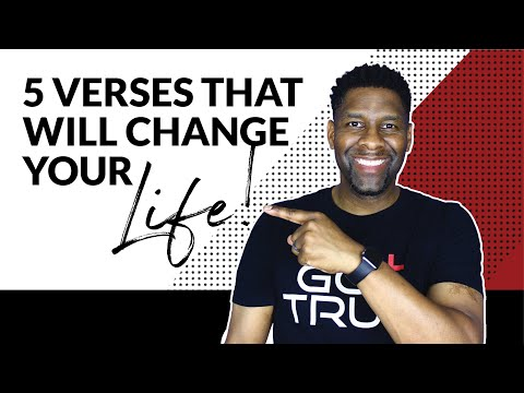 5 Bible Verses That Will Change Your Life FOREVER!