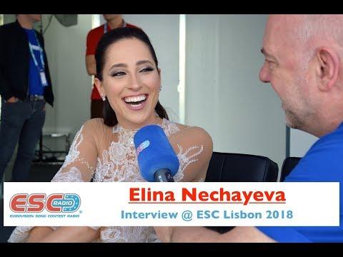 Elina Nechayeva (Estonia) interview @ Eurovision 2018 Lisbon | ESC Radio
